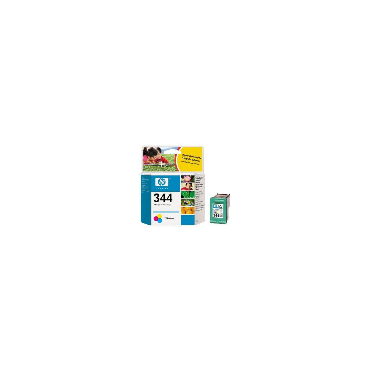 Multipack cartouches d'encre HP n°344 Couleur (Jaune, Magenta, Cyan)