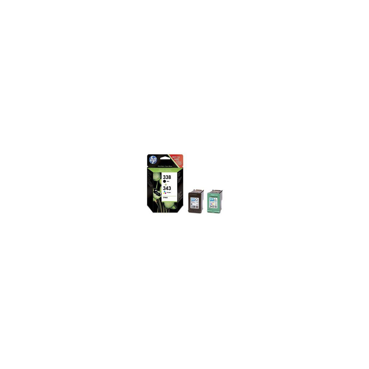 Cartouche HP N°338/343 Combo pack