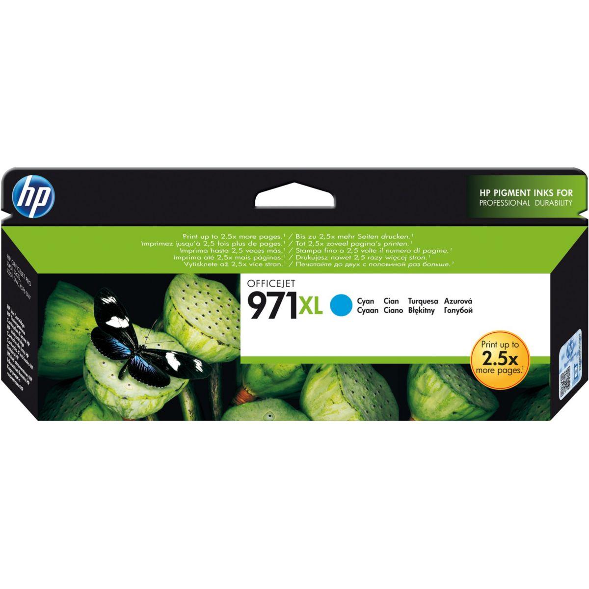 Cartouche HP 971XL CYAN