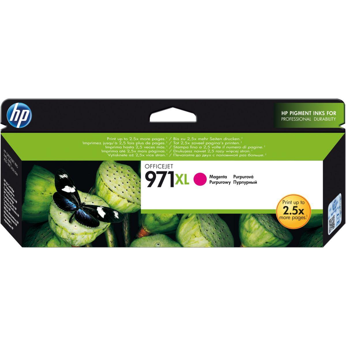 Cartouche HP 971XL Magenta