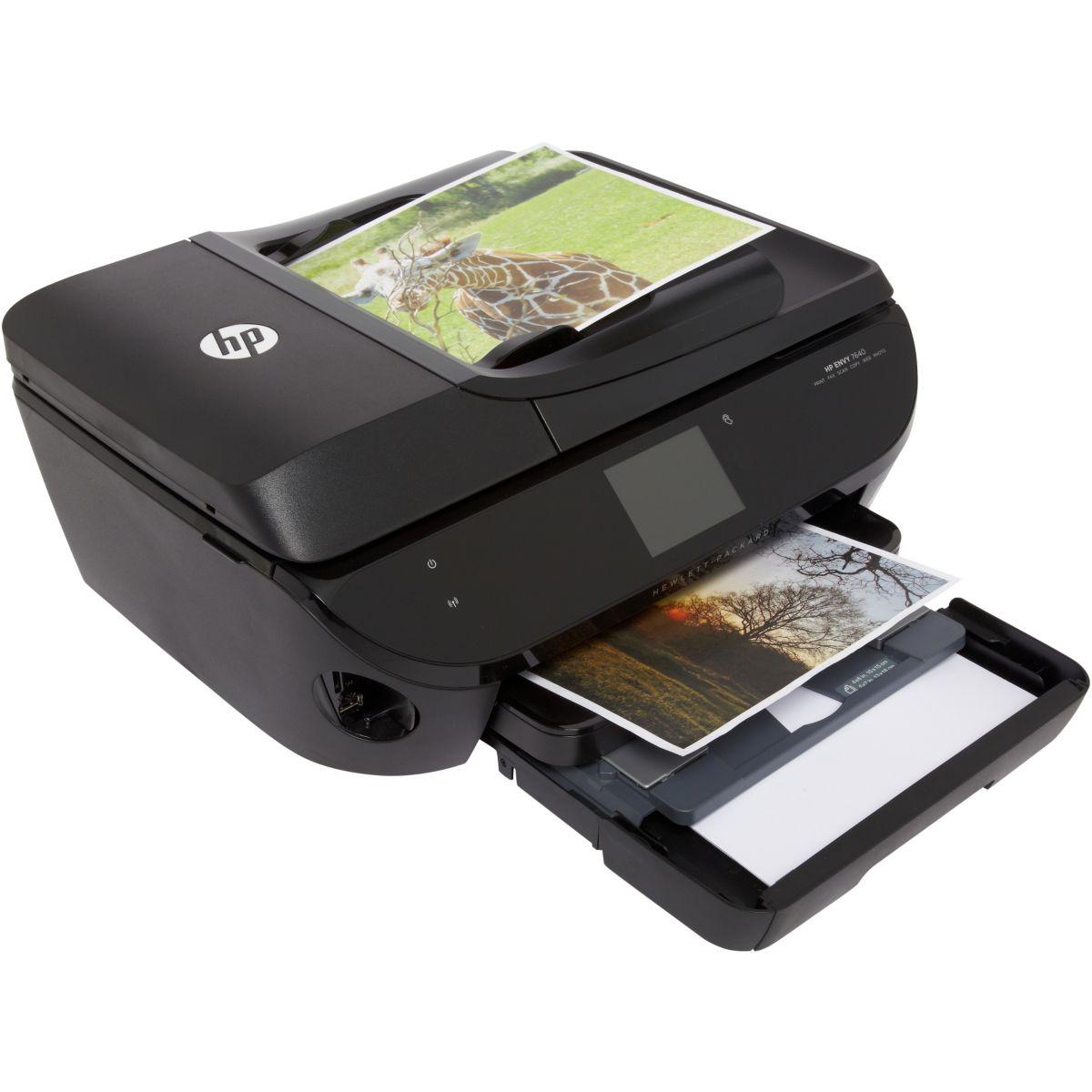 Imprimante multifonction jet d'encre HP Envy 7640 (photo)