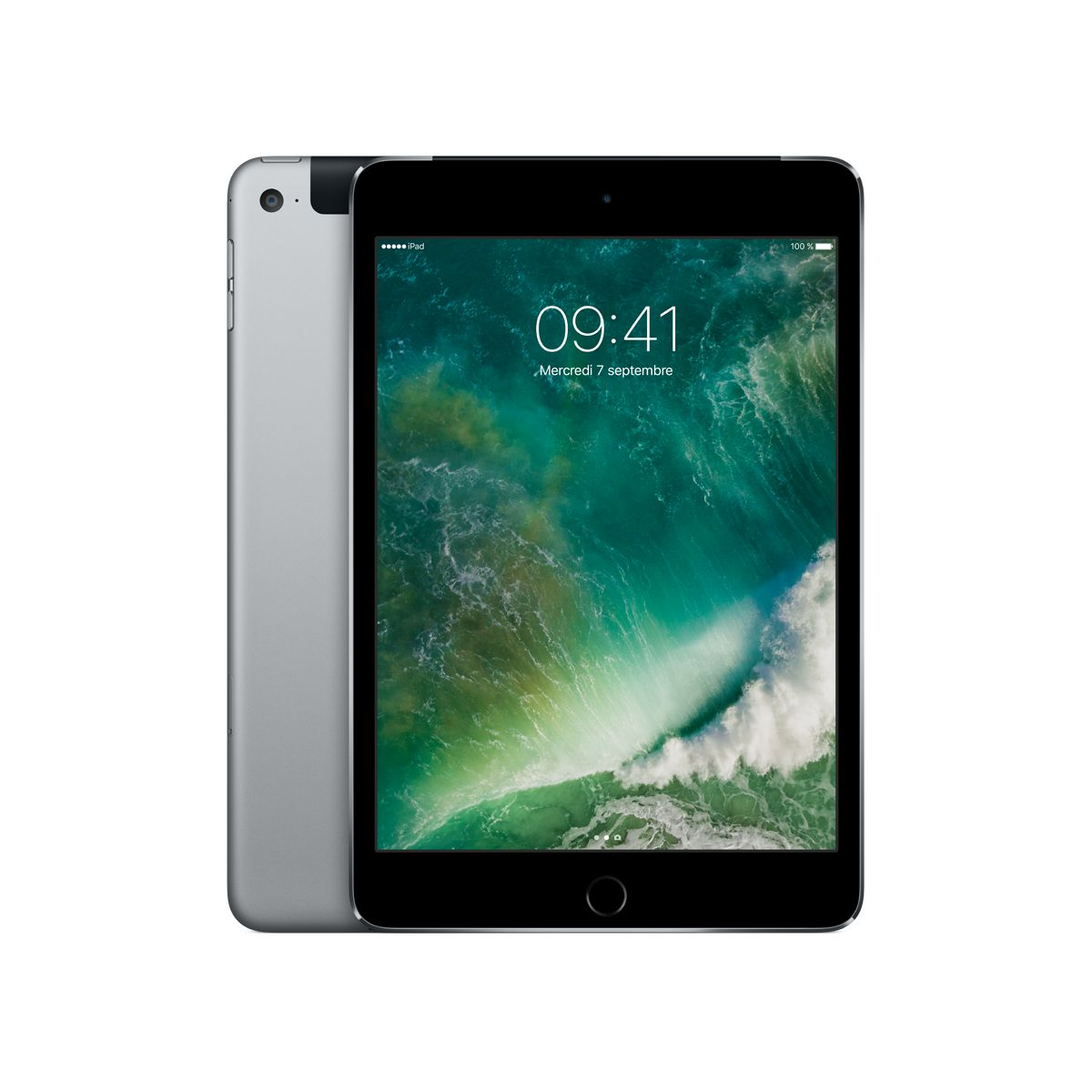Tablette Apple IPAD Mini 4 128Go cel. gris sidéral