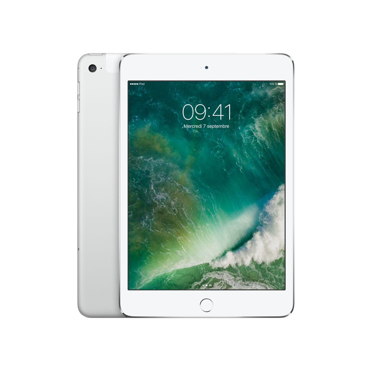 Tablette Apple IPAD Mini 4 128Go cel. argent