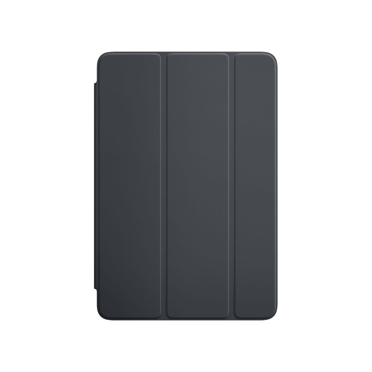 Etui APPLE iPad Mini 4 silicone gris anthracite (photo)