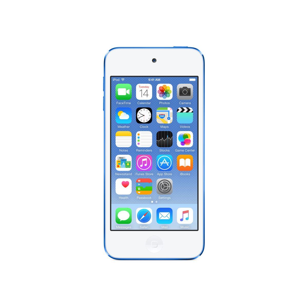 Bal.mp4 APPLE IPOD Touch 128GB bleu