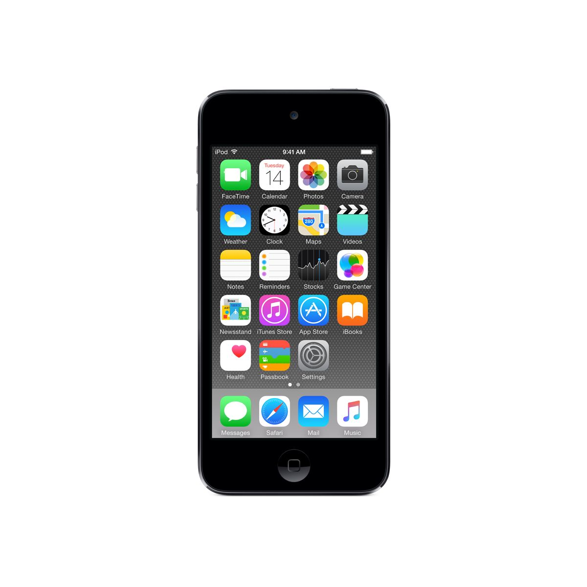 Bal.mp4 APPLE IPOD Touch 128GB space gri