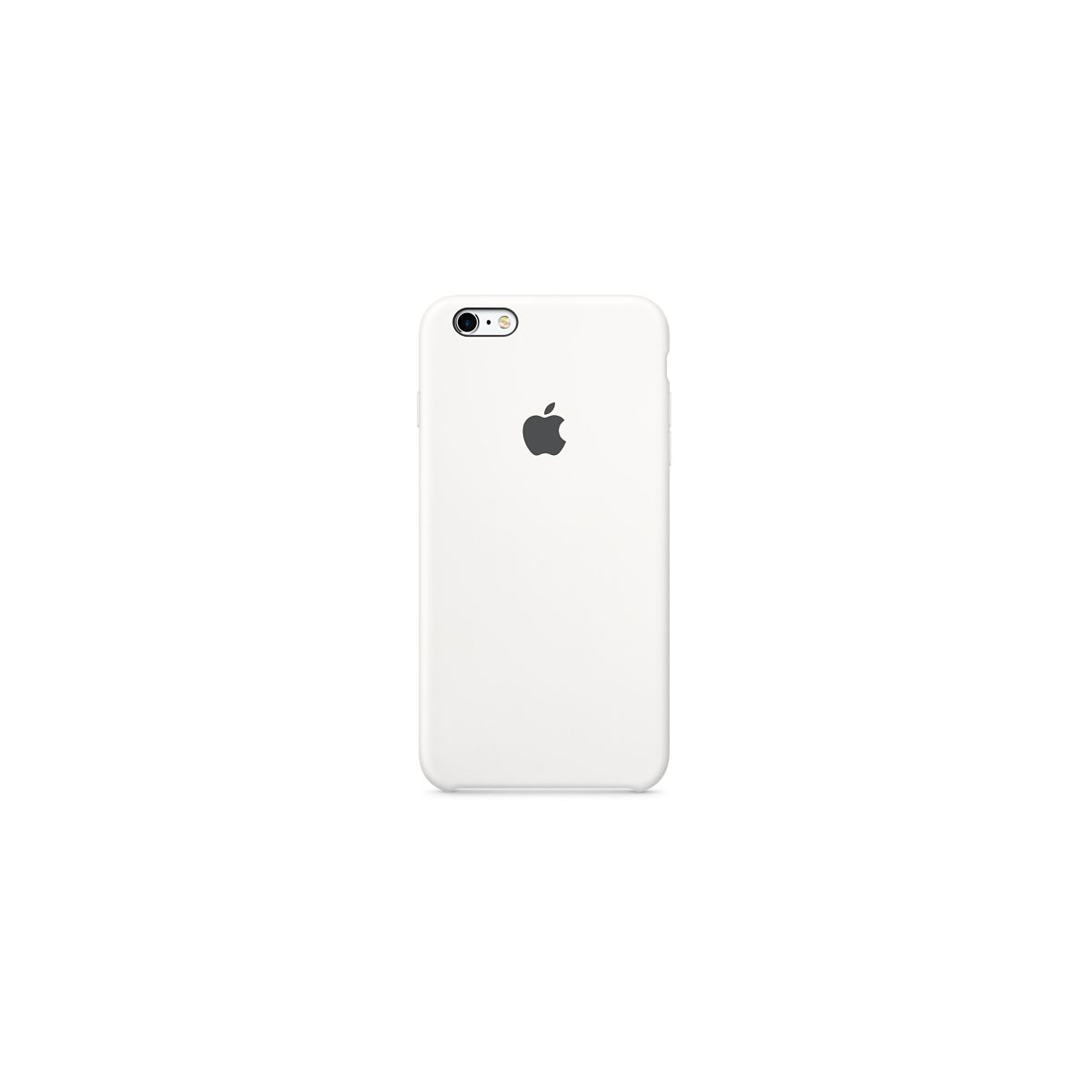 Coque APPLE iPhone 6/6S Plus silicone bl (photo)