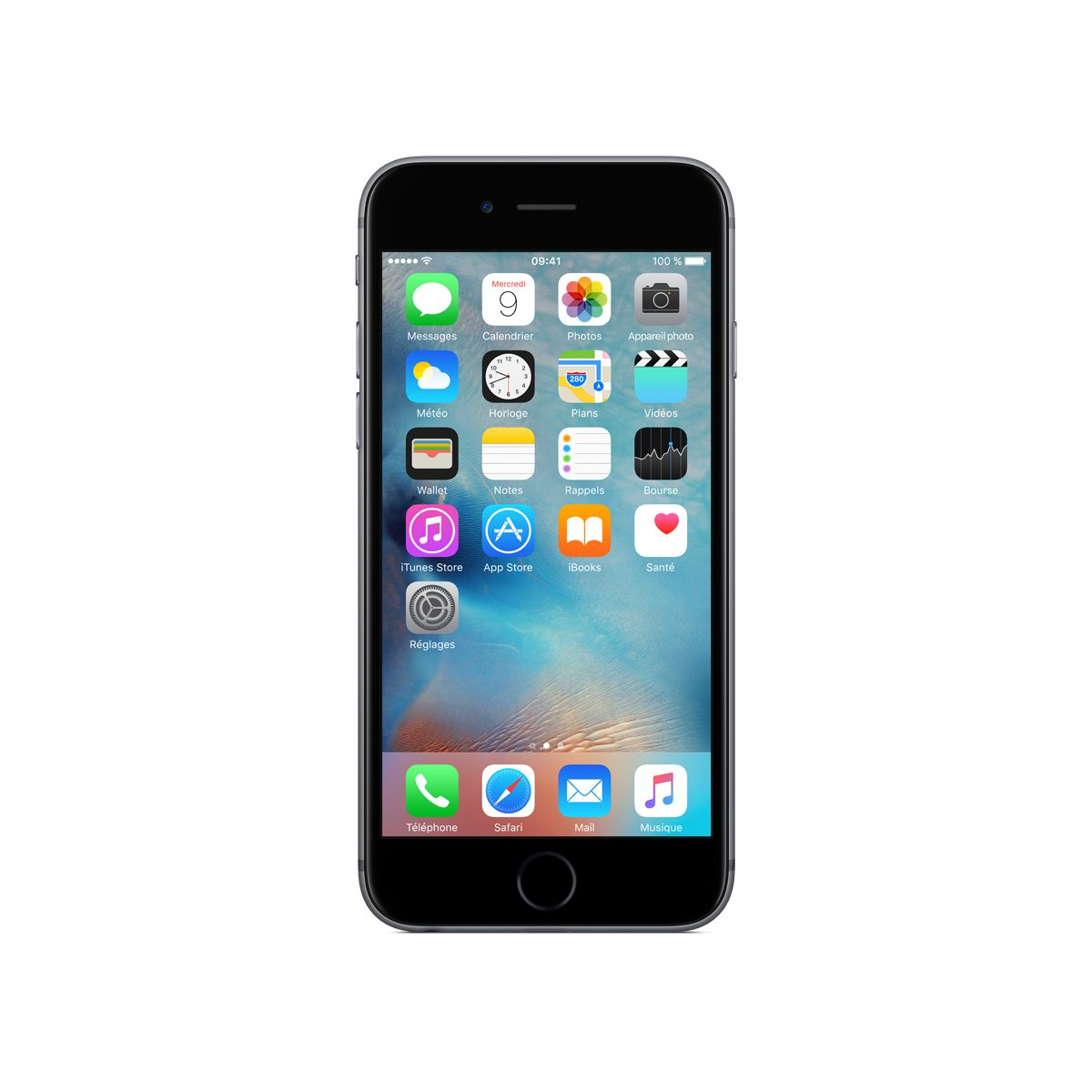Smartphone APPLE iPhone 6s Space Gray 128Go