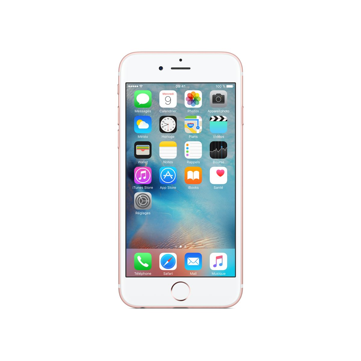 APPLE iPhone 6S 128Go Or rose (photo)