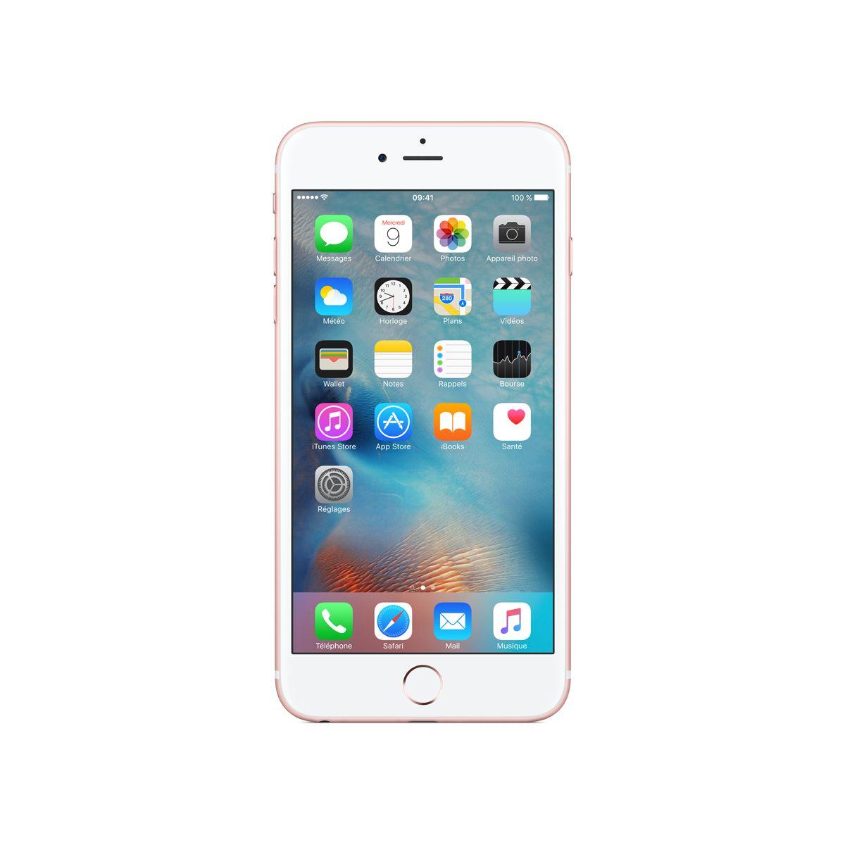 APPLE iPhone 6S Plus 128Go Or rose (photo)