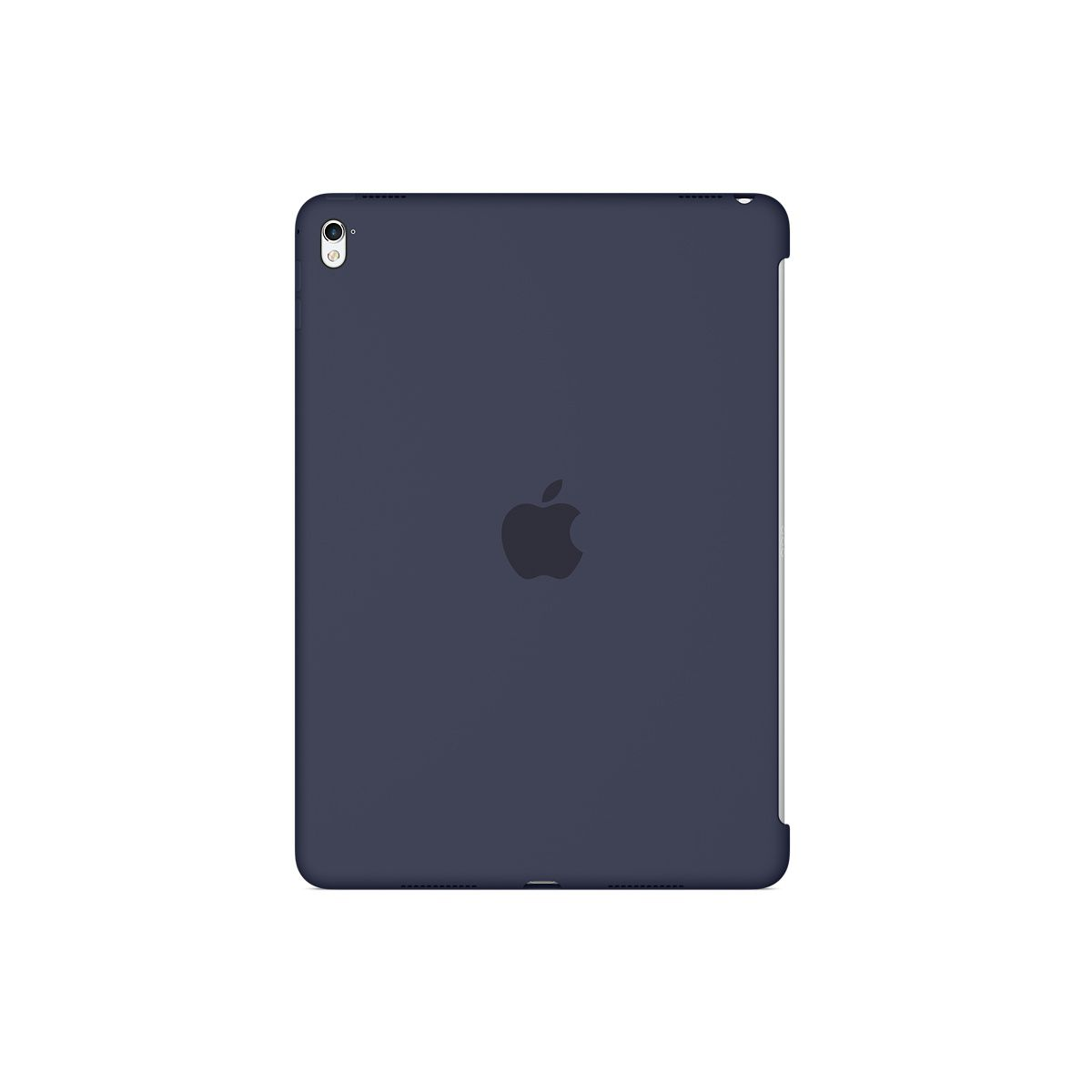 Coque APPLE iPad Pro 9.7'' silicone bleu nuit (photo)