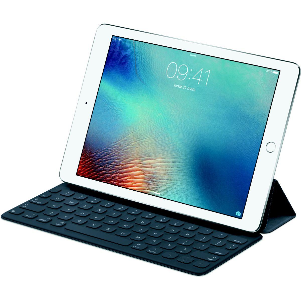 Clavier tablette APPLE QWERTY pour iPad Pro Smart 9'&#039...