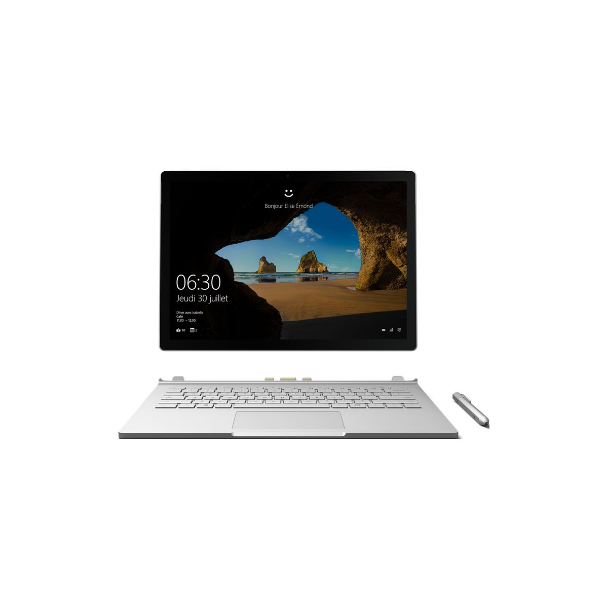 Tablette MICROSOFT Surface Book 256Go i7