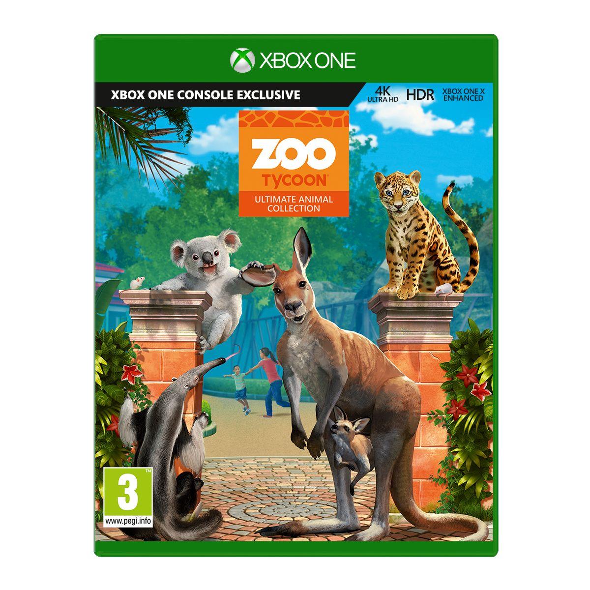 Jeu Xbox One MICROSOFT Zoo Tycoon