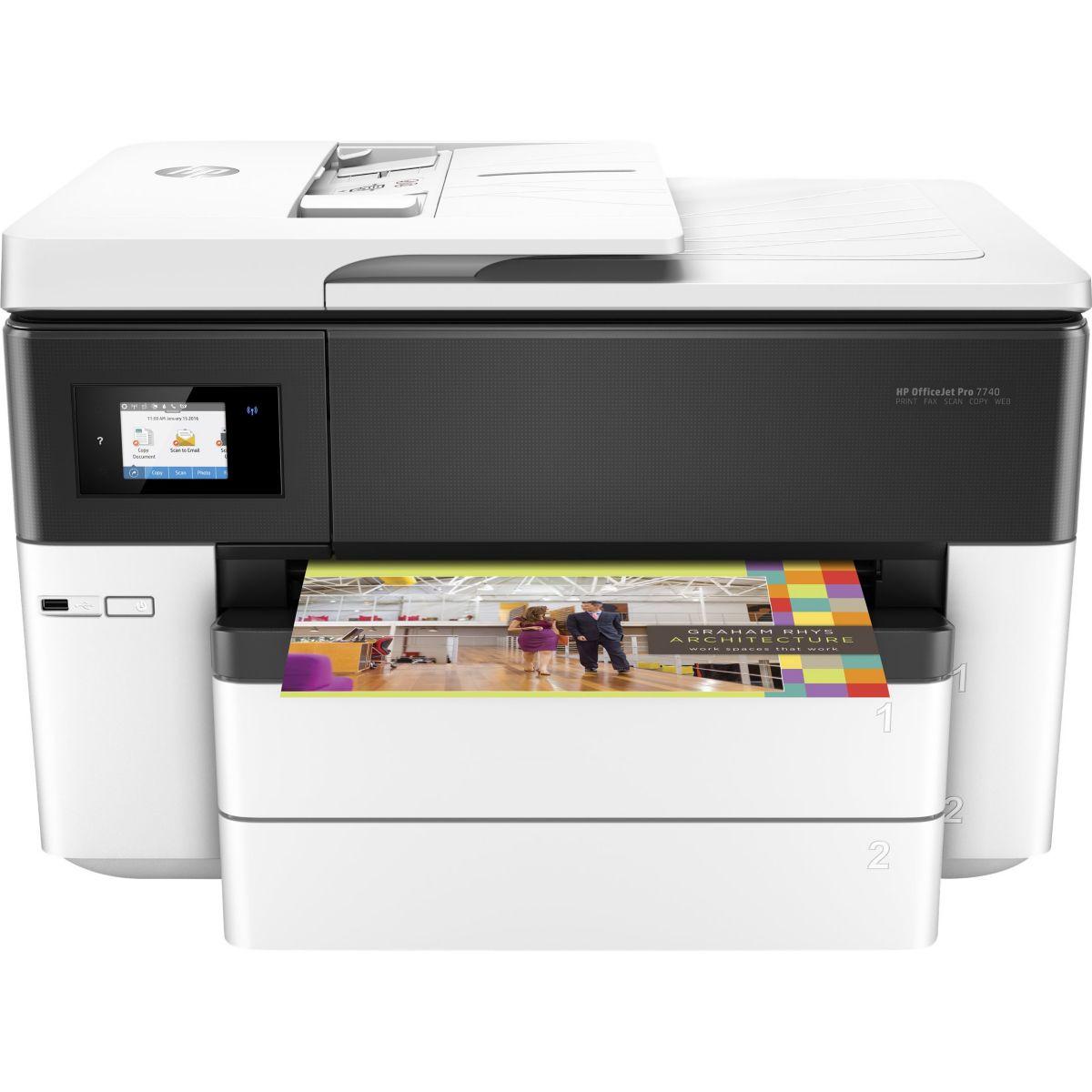 Imprimante jet d'encre HP Office Jet Pro 7740