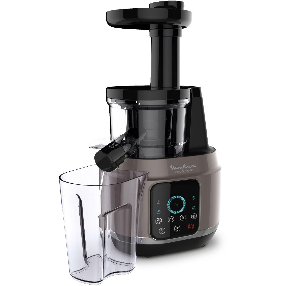 Extracteur de jus MOULINEX Juice & Clean Gris ZU420A10