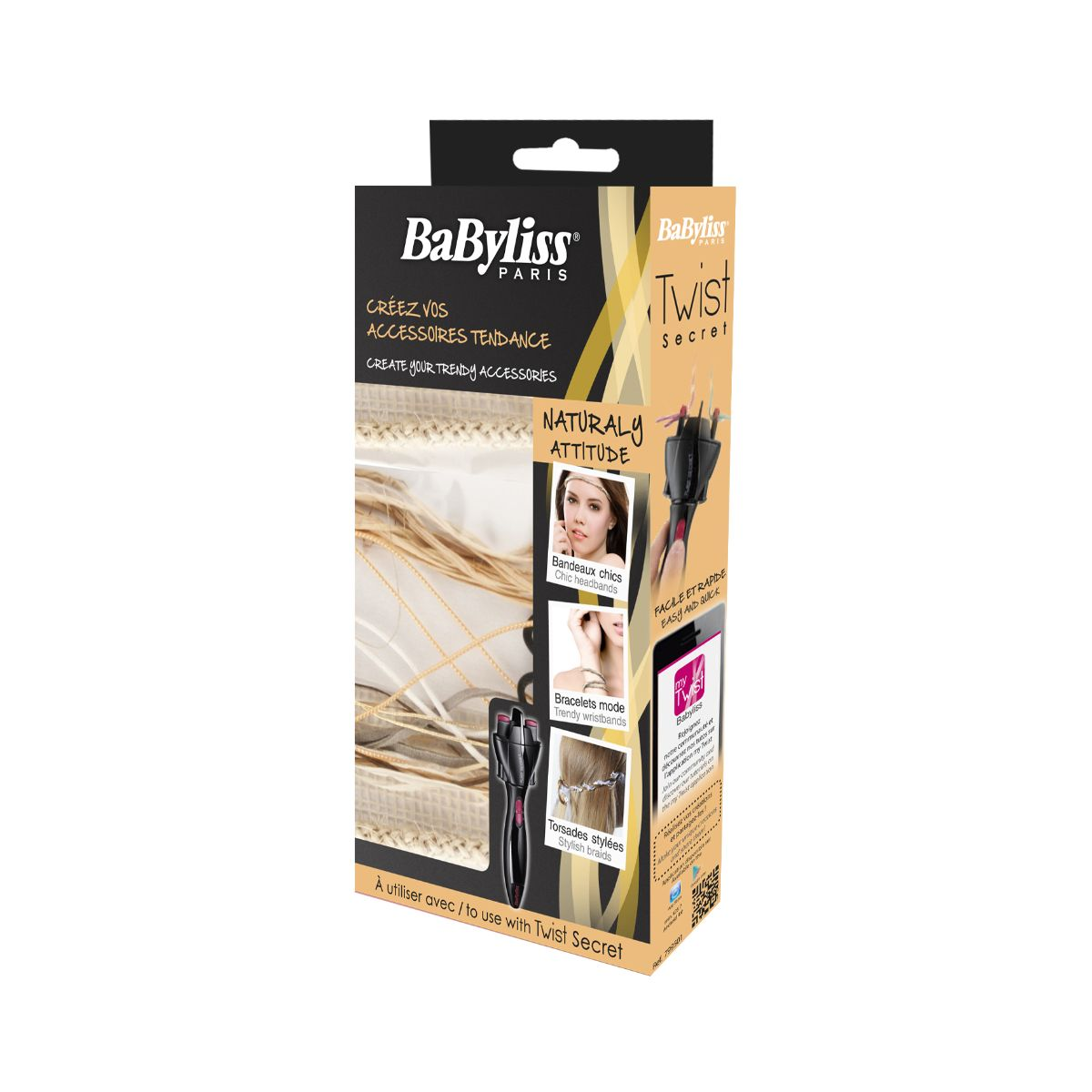 BABYLISS Kit accessoires Twist Naturaly