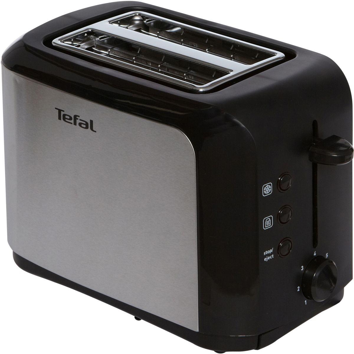 Grille-pain TEFAL TT356110 noir/inox