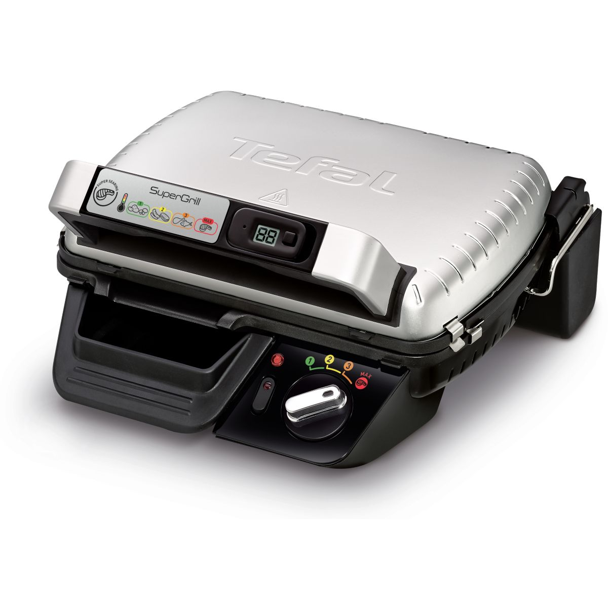 Grille-viande TEFAL SUPERGRILL TIMER GC451B12