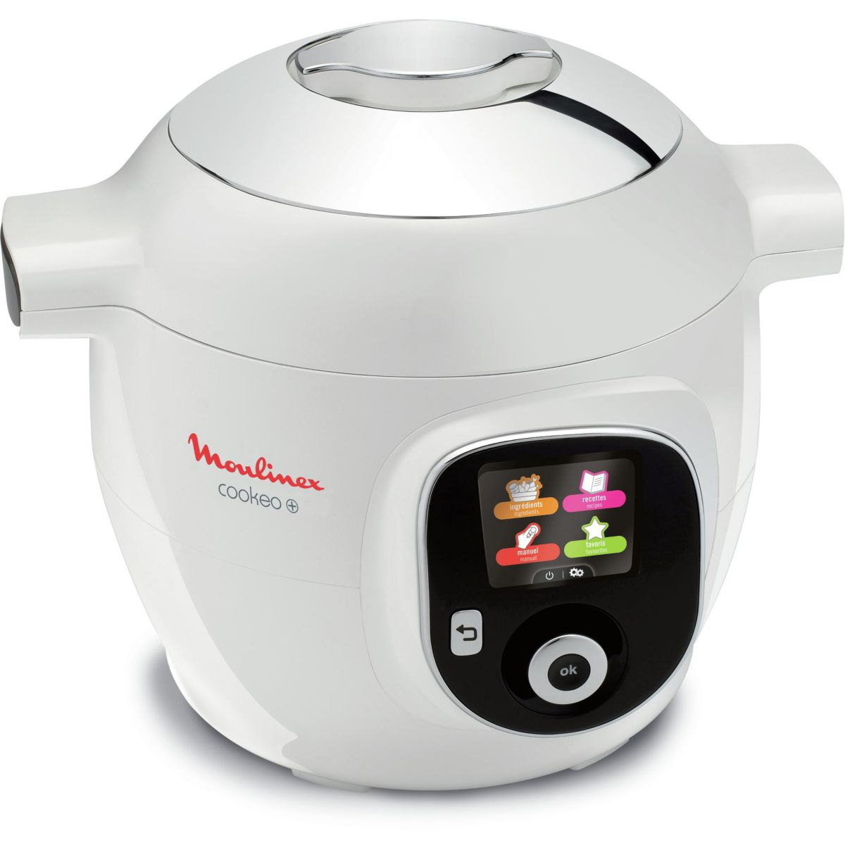 Cookeo MOULINEX Cookeo + Blanc 150 recettes CE851100