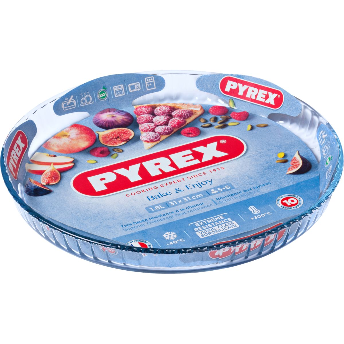 Moule à tarte PYREX diam 30 cm Classic (photo)