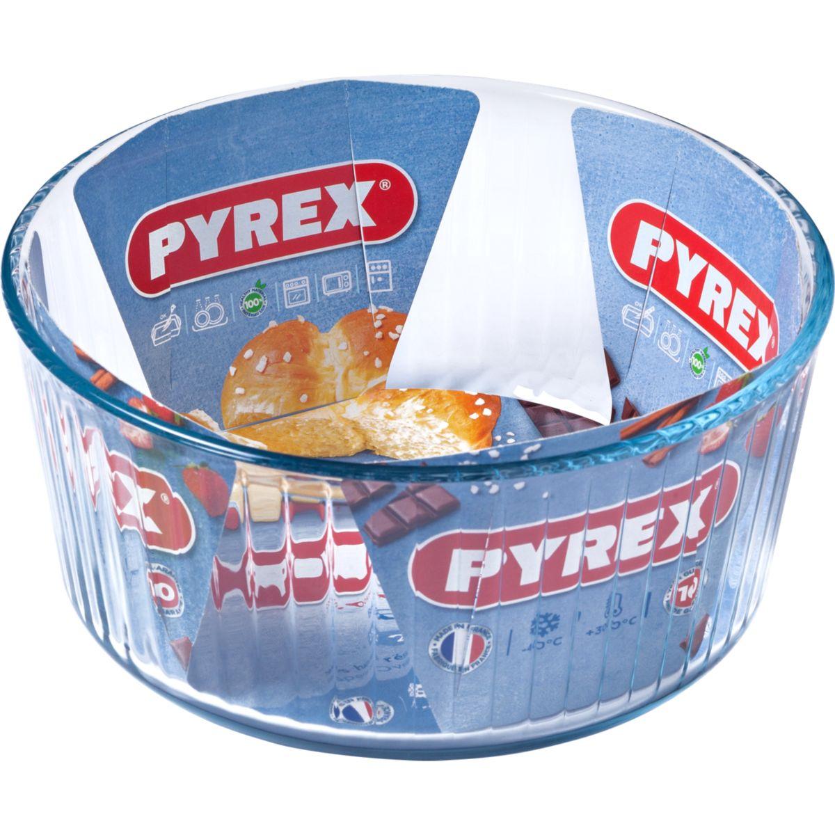 Moule en verre PYREX à soufflé diam 21 cm Classic (photo)