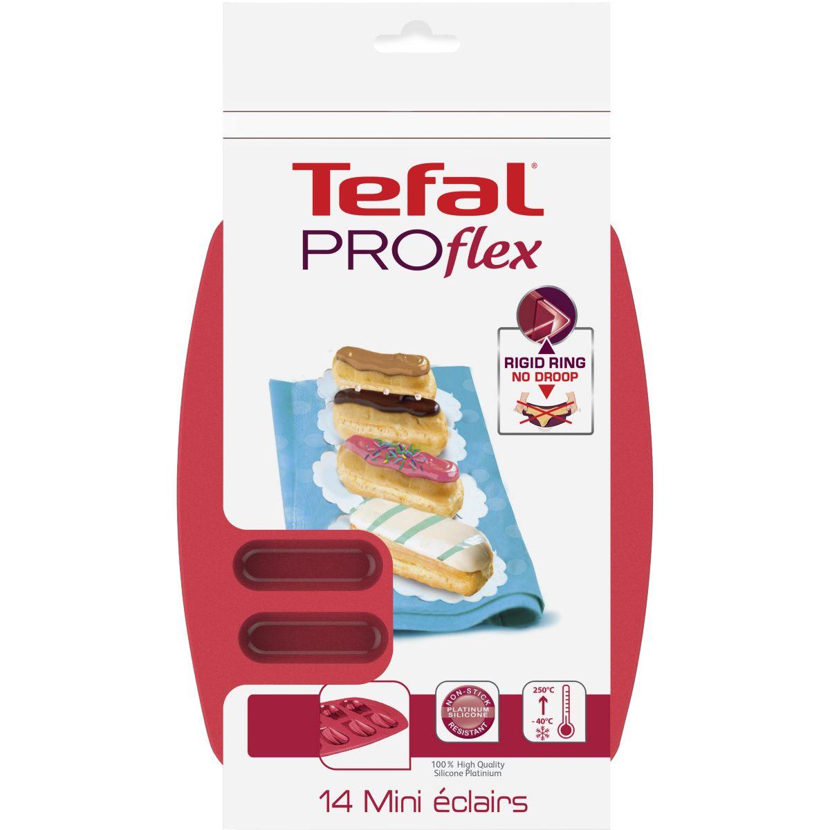 Moule en silicone TEFAL Proflex mini éclairs (photo)