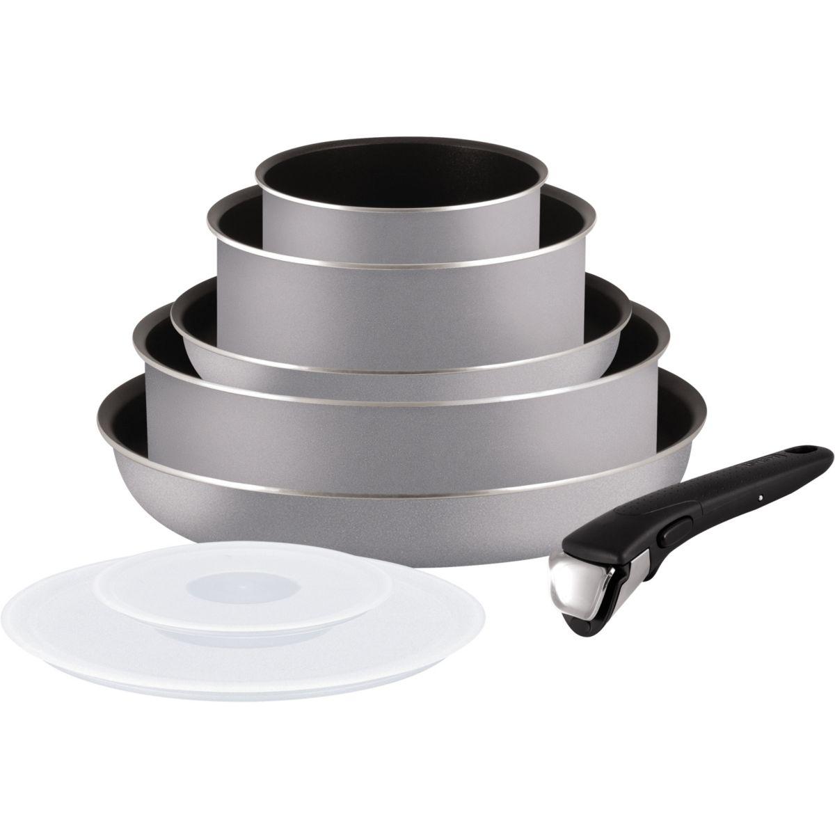 Set TEFAL Ingenio Essential gris scottis