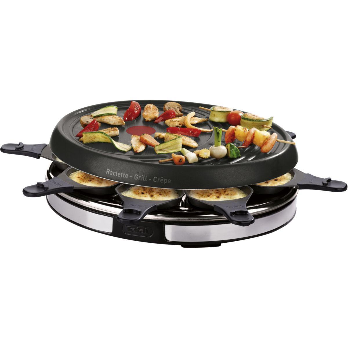 Raclette TEFAL INOX RE137812