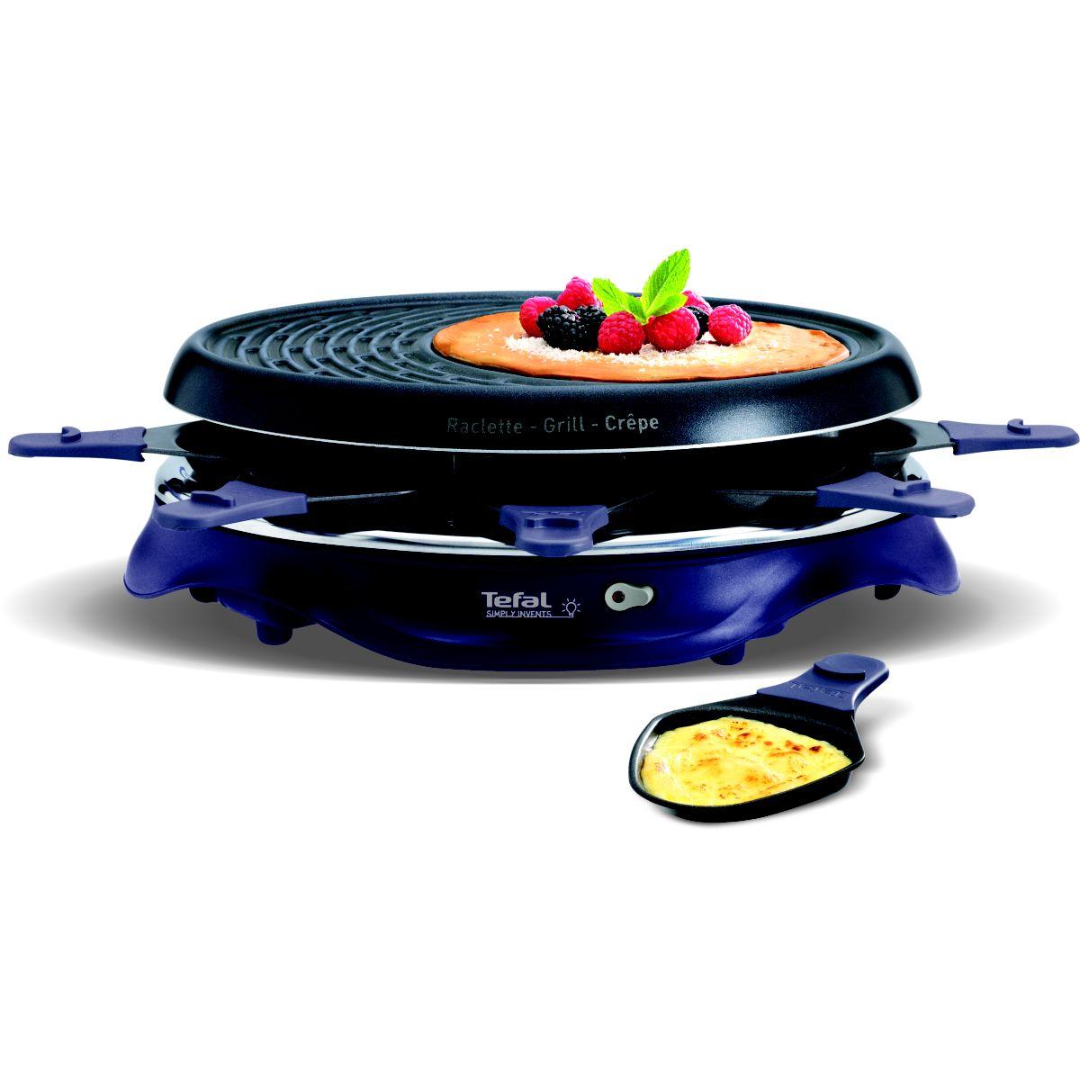 Raclette TEFAL RE511412 SIMPLY INVENT MAUVE 8C