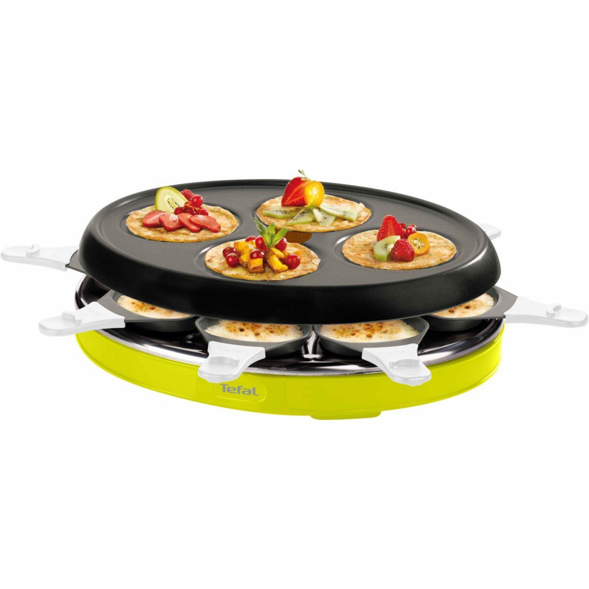 Raclette TEFAL RE138012 COLORMANIA VERT