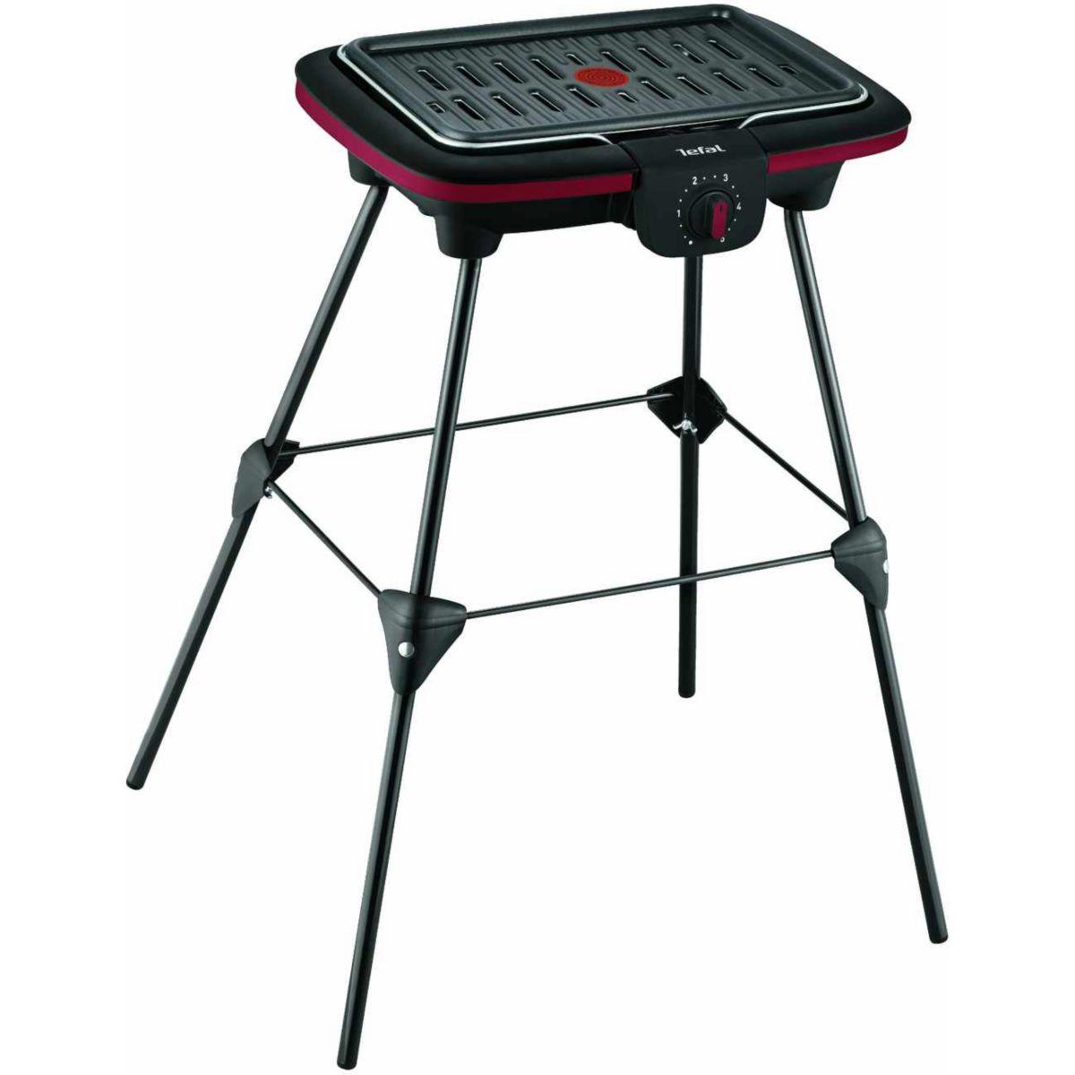 Barbecue électrique sur pied TEFAL CB902012 EASY GRILL (photo)