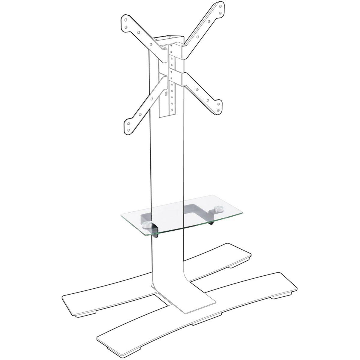 Accessoire meuble TV ERARD TABLETTE NOIRE