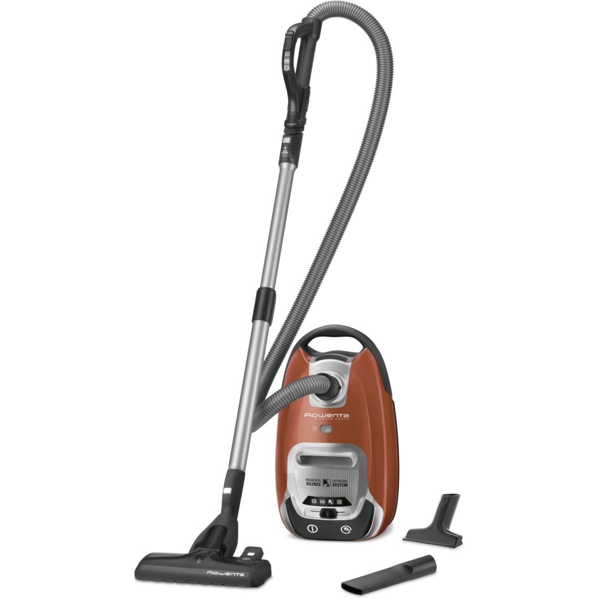 Aspirateur avec sac ROWENTA RO6432EA Silence Force 4A Orange (photo)