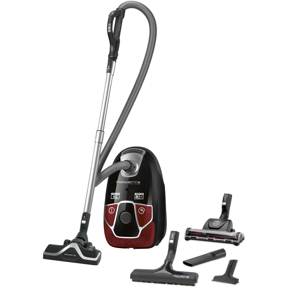 Aspirateur avec sac ROWENTA RO6883EA X-trem power 4A+ (photo)