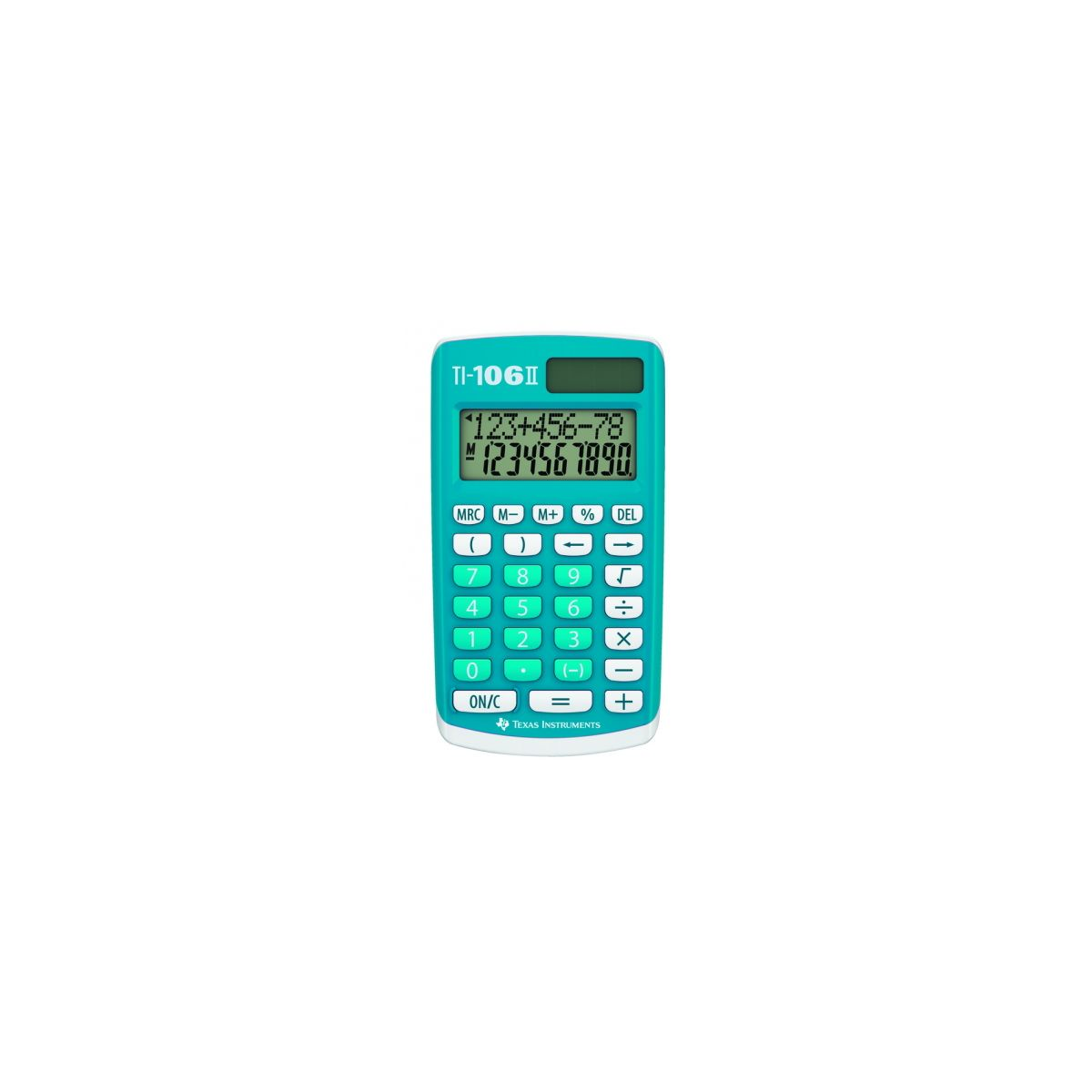 Calculatrice standard TEXAS INSTRUMENTS TI-106 II (photo)