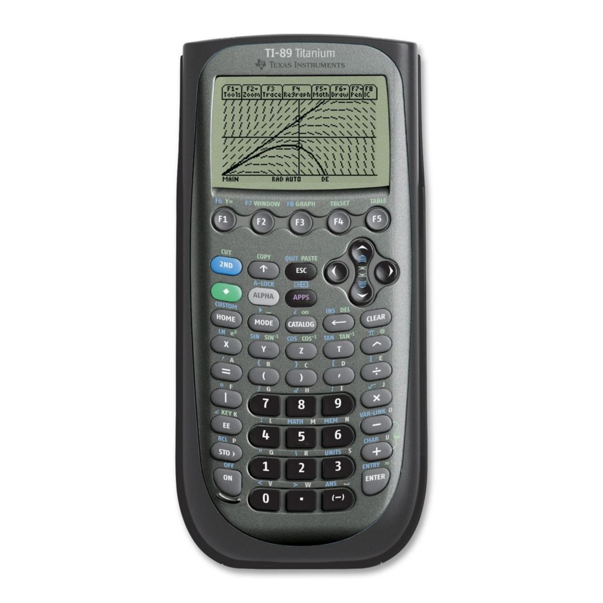 Calculatrice graphique TEXAS INSTRUMENTS TI-89 Titanium (photo)