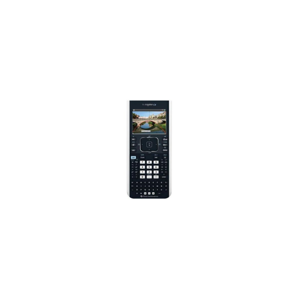 Calculatrice graphique TEXAS INSTRUMENTS TI-Nspire CX Noir (photo)