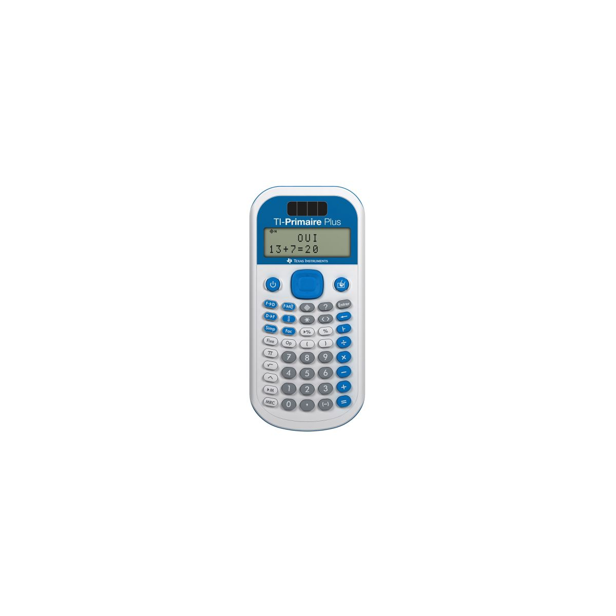 Calculatrice scientifique TEXAS INSTRUMENTS TI Primaire+ (photo)