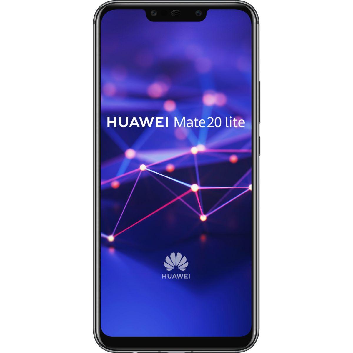 Smartphone HUAWEI Mate 20 lite+Etui+Enceinte bluetooth