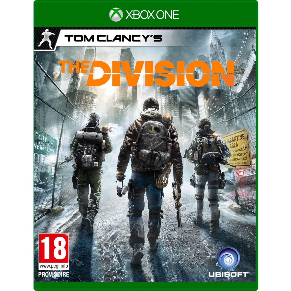 Jeu Xbox One UBISOFT The Division