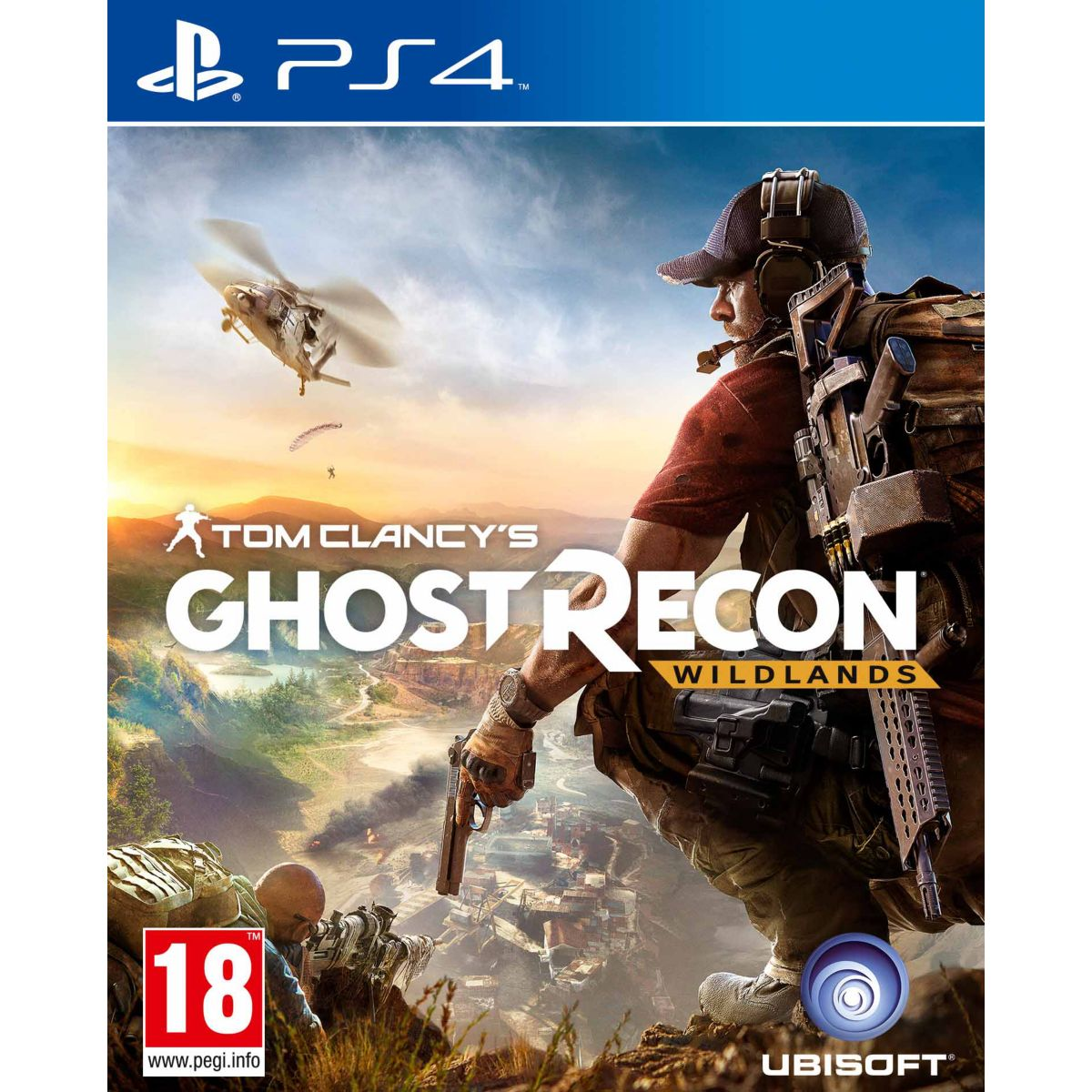 Jeu PS4 UBISOFT Ghost Recon Wildlands
