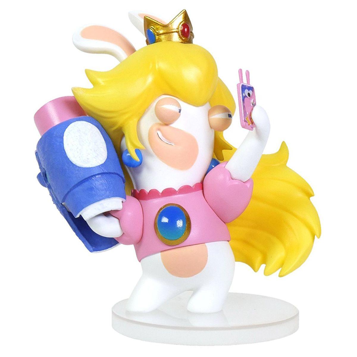 Figurine UBISOFT Mario + Lapins Crétins - Peach 8cm (photo)