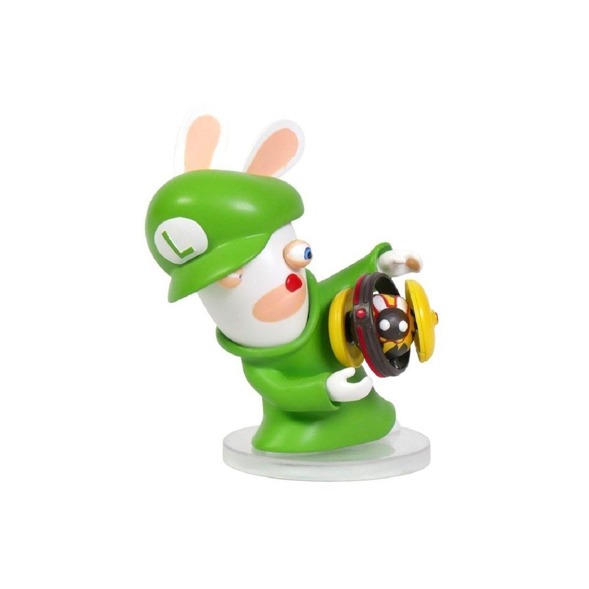 Figurine UBISOFT Mario + Lapins Crétins - Luigi 8cm (photo)