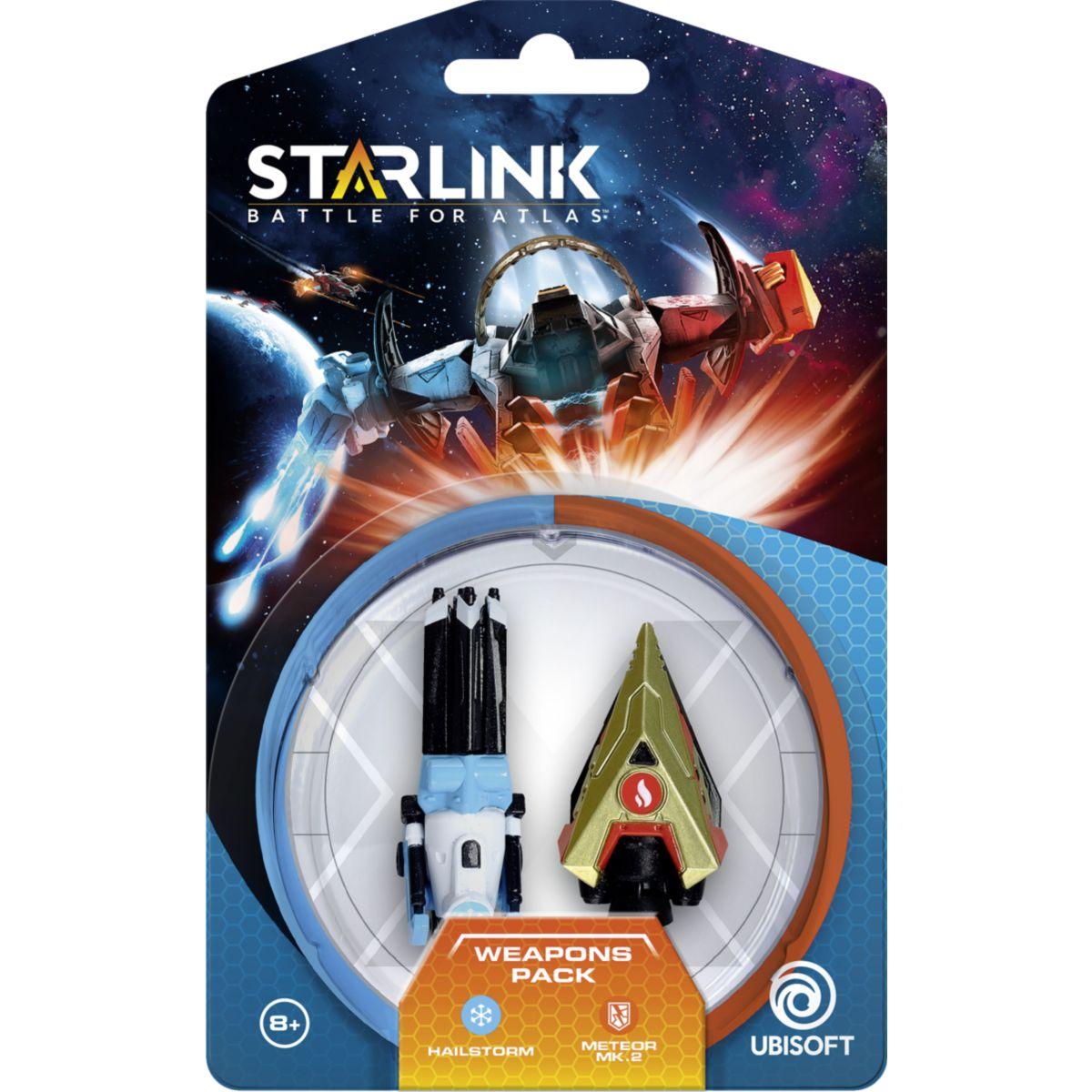 Jouet connecté UBISOFT Starlink Pack d'armes Hail Storm+meteor (photo)