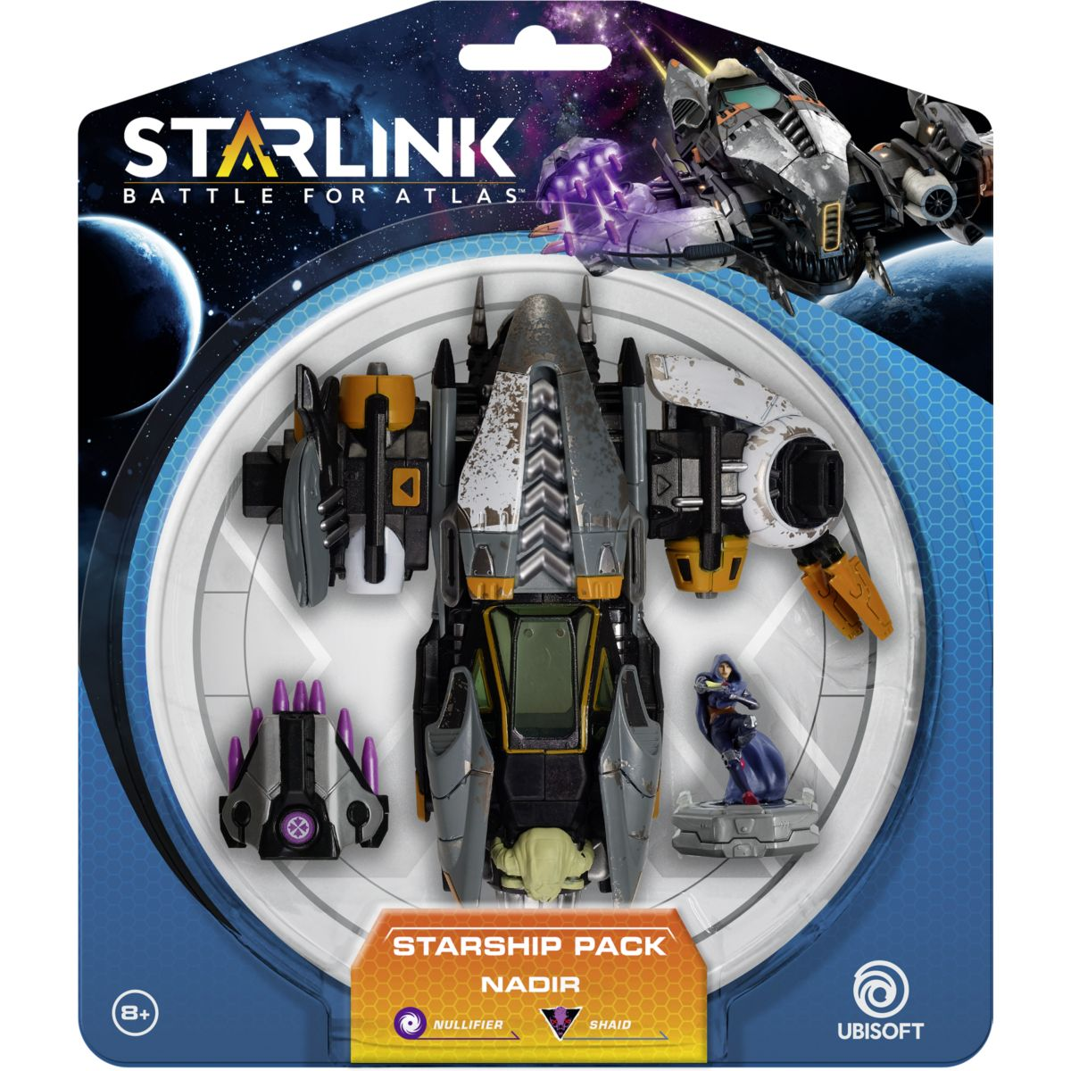Jouet connecté UBISOFT Starlink Pack vaisseaux Nadir (photo)