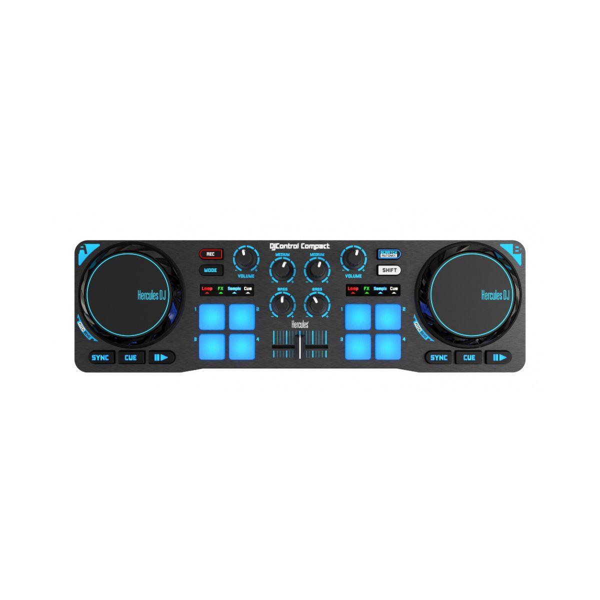 Table de mixage HERCULES DJ CONTROL COMPACT