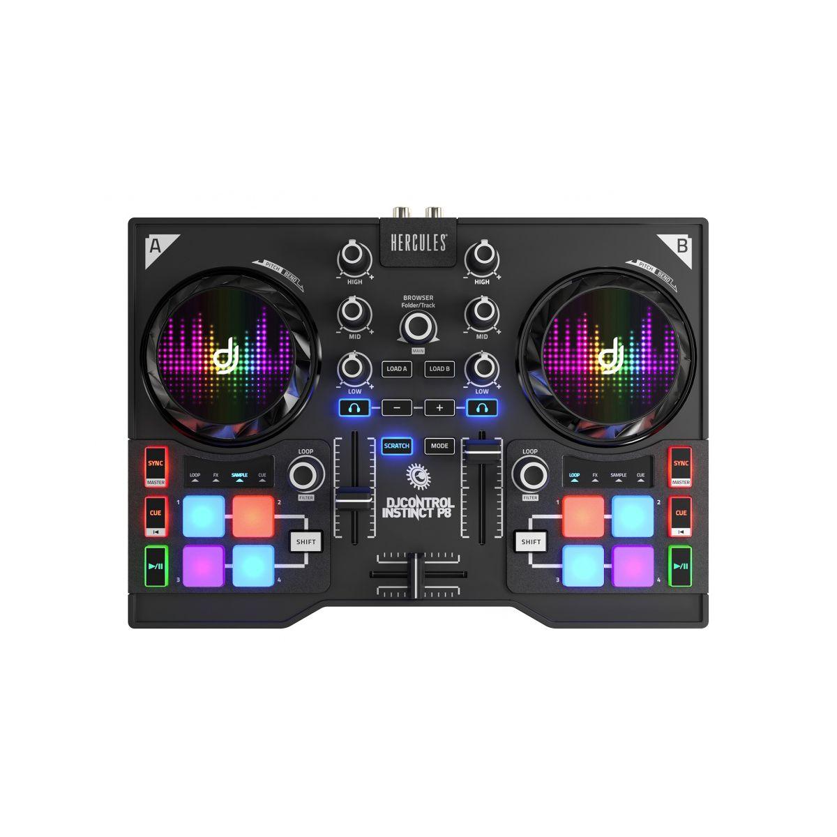 Table Mixage HERCULES DJ CONTROL INSTINC (photo)