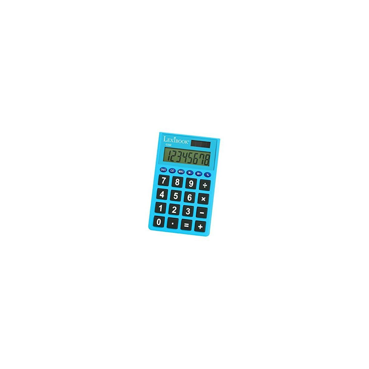 Calculatrice standard LEXIBOOK Calculatrice de poche 8 chiffres-Assorti (photo)