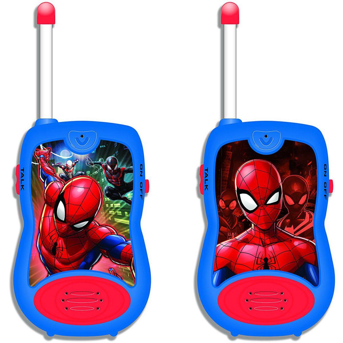 Talkie walkie LEXIBOOK TW12 Spider-Man (photo)